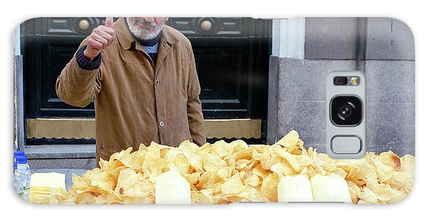 Potato Chip Man Galaxy Case