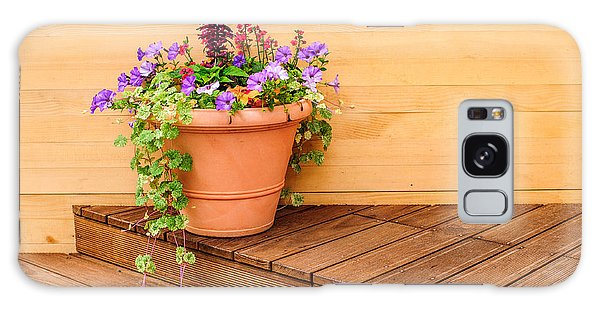 Potted Flowers Still Life Galaxy Case