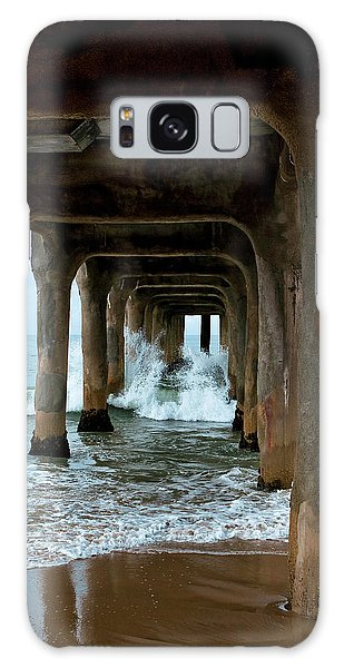Pounded Pier Galaxy Case