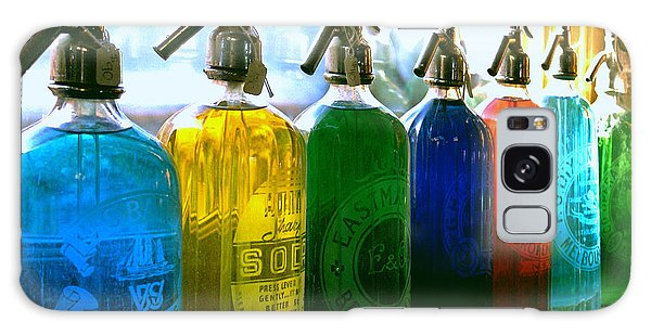 Pour Me A Rainbow Galaxy Case by Holly Kempe