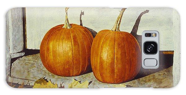 Povec's Pumpkins Galaxy Case