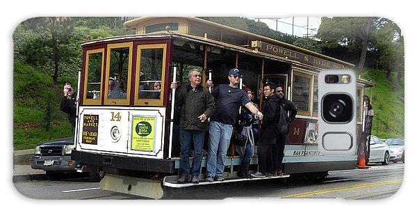Powell And Market Street Trolley Galaxy Case by Steven Spak