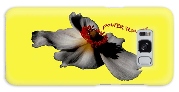 Power Flower Anemone Galaxy Case