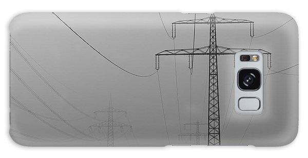 Power Line Galaxy Case