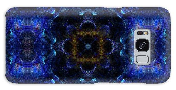 Power Of The Water Mandala 31 Galaxy Case