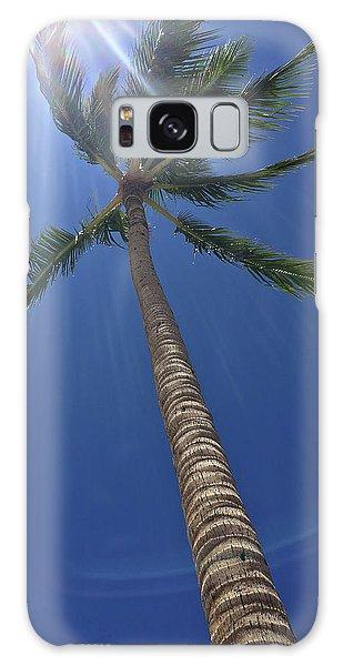 Powerful Palm Galaxy Case