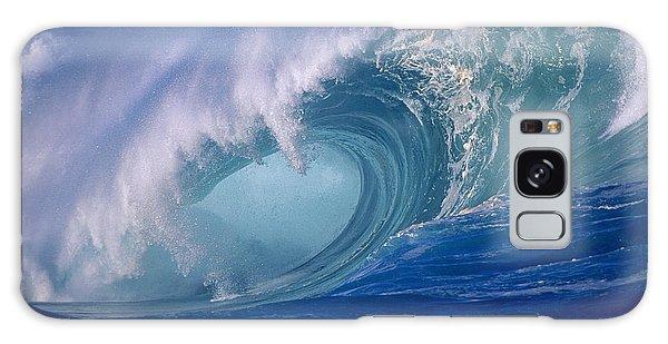 Powerful Surf Galaxy Case