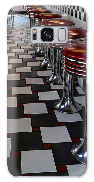 Power's Diner Port Huron Galaxy Case by Mary Bedy