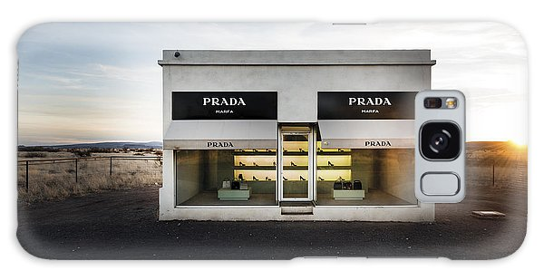 Prada Marfa Is A Permanently Installed Sculpture By Elmgreen And Dragset Near The Town Of Valentine Galaxy Case by Carol M Highsmith