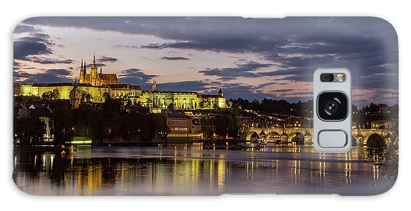 Prague Castle, Night View Galaxy Case
