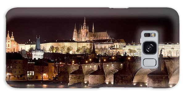 Prague Castle Galaxy Case