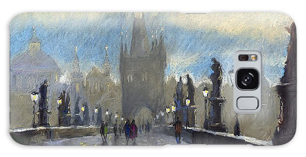 Architecture Galaxy Case - Prague Charles Bridge 06 by Yuriy Shevchuk