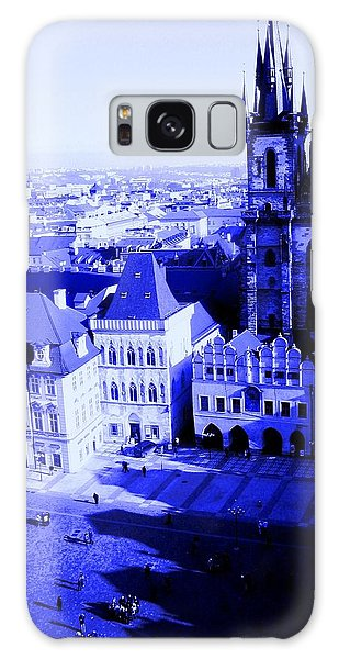 Galaxy Case featuring the photograph Prague Cz by Michelle Dallocchio