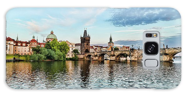 Prague From The River Galaxy Case