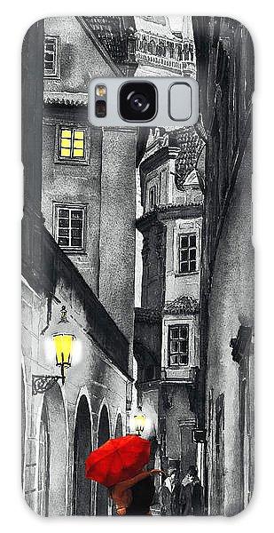 Prague Love Story Galaxy Case by Yuriy  Shevchuk