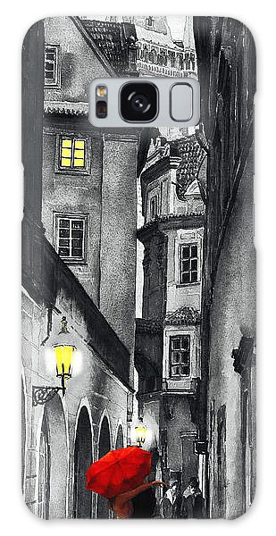 Mixed-media Galaxy Case - Prague Love Story by Yuriy Shevchuk