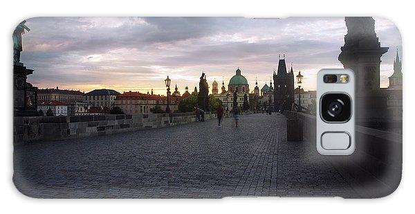 Prague Morning Galaxy Case