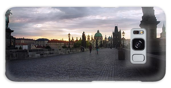 Prague Morning Galaxy Case