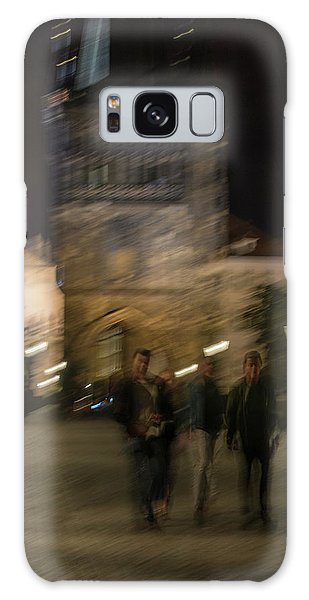 Galaxy Case featuring the photograph Prague Nights by Alex Lapidus