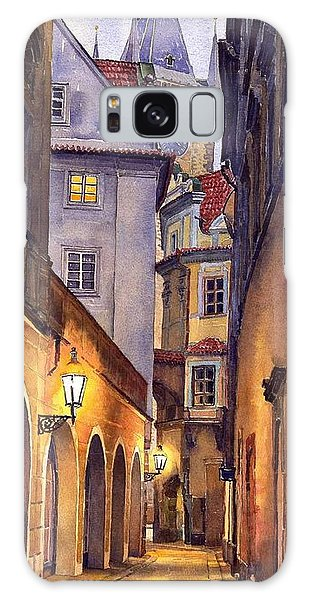 City Scenes Galaxy S8 Case - Prague Old Street  by Yuriy Shevchuk