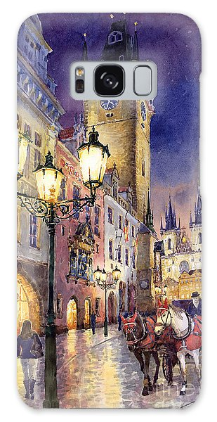 Prague Old Town Square 3 Galaxy Case