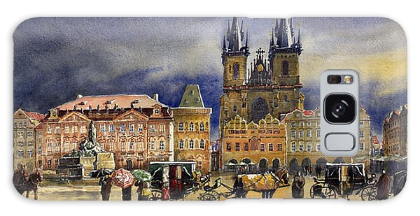 People Galaxy Case - Prague Old Town Squere After Rain by Yuriy Shevchuk
