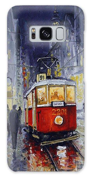 Oil Galaxy Case - Prague Old Tram 06 by Yuriy Shevchuk