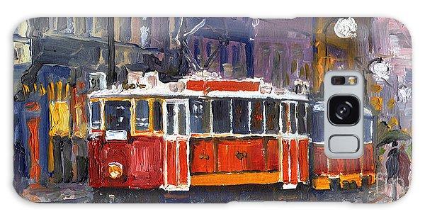 Oil Galaxy Case - Prague Old Tram 09 by Yuriy Shevchuk