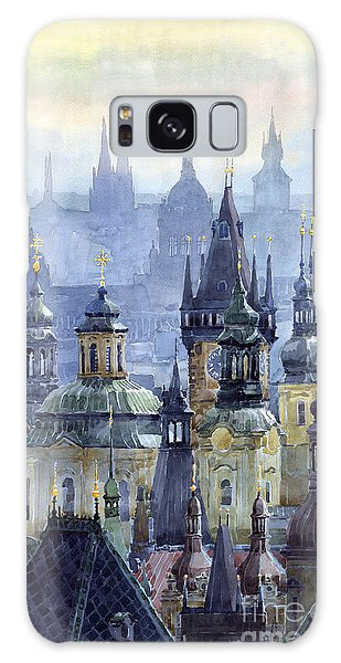 Cityscape Galaxy Case - Prague Towers by Yuriy Shevchuk