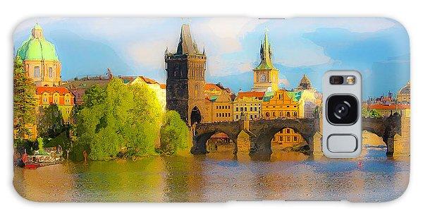 Praha - Prague - Illusions Galaxy Case