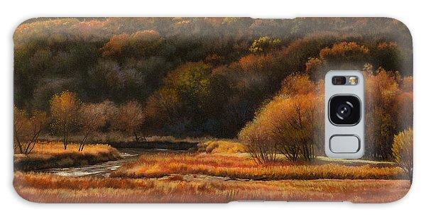 Prairie Autumn Stream No.2 Galaxy Case