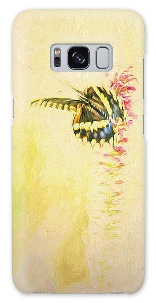 Prairie Butterfly 3 Galaxy Case
