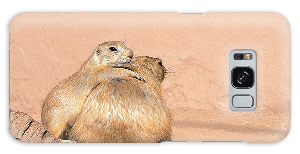Prairie Dog Friends Galaxy Case by Laurel Powell