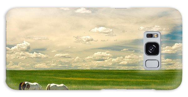 Prairie Horses Galaxy Case