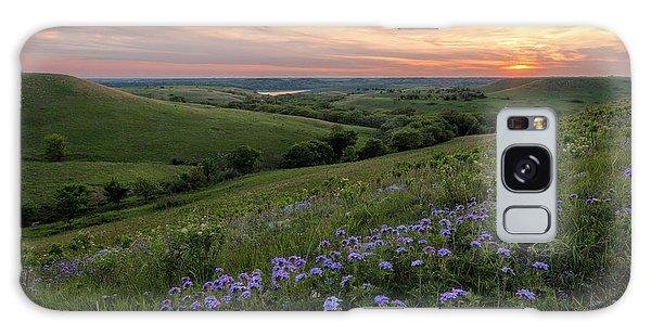 Prairie In Bloom Galaxy Case