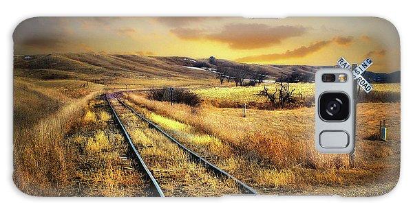 Prairie Tracks Galaxy Case