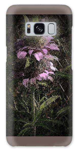 Prairie Weed Flower Galaxy Case