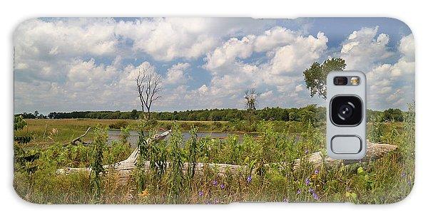 Prairie Wetland Galaxy Case