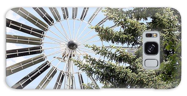 Prairie Windmill Galaxy Case