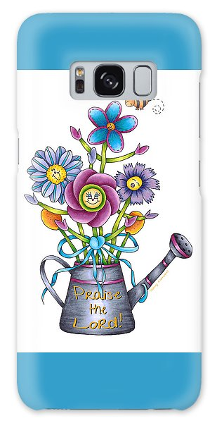 Praise The Lord Galaxy Case by Tracy Campbell
