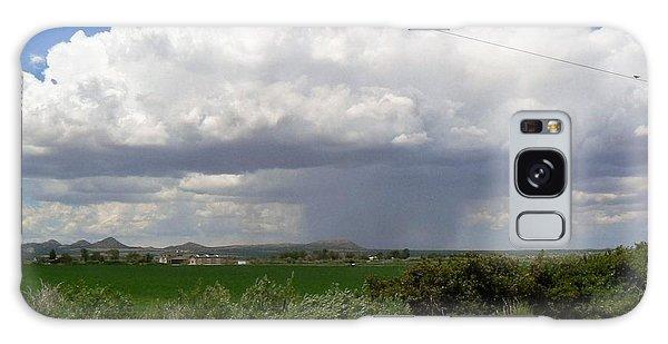 Prarie Rain Cloud Galaxy Case