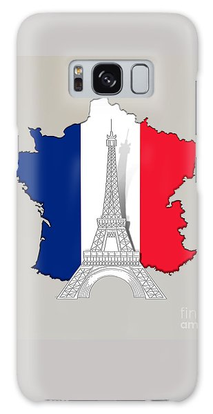 Pray For Paris Galaxy Case
