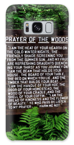 Prayer Of The Woods Galaxy Case