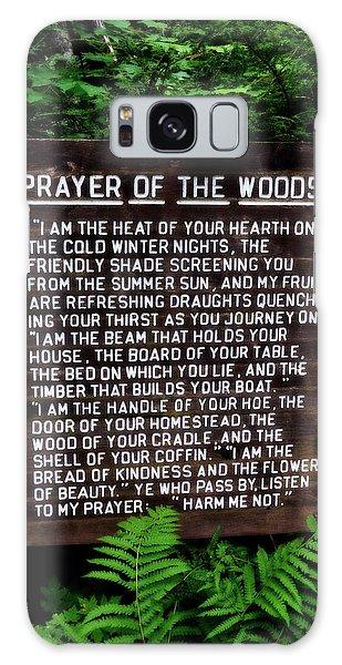 Prayer Of The Woods Galaxy Case