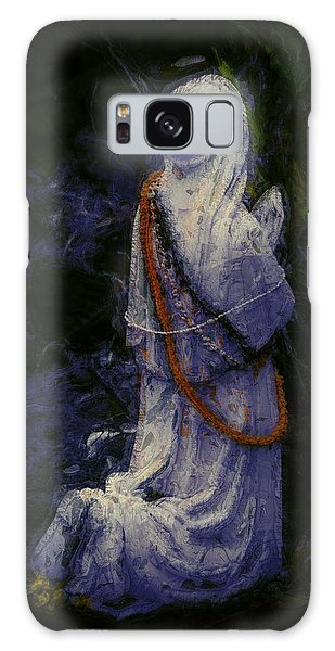 Praying Galaxy Case by Lori Seaman