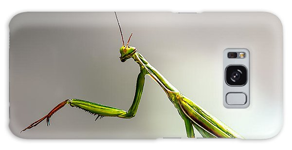 Insects Galaxy Case - Praying Mantis  by Bob Orsillo