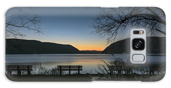 Dawn At Plum Point Galaxy Case by Angelo Marcialis
