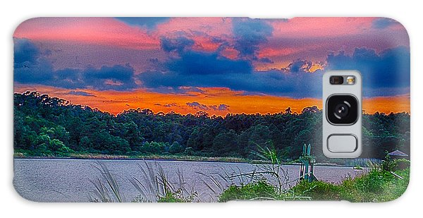 Galaxy Case featuring the photograph Pre-sunset At Hbsp by Bill Barber