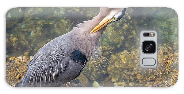Preening Heron Galaxy Case by Jerry Cahill