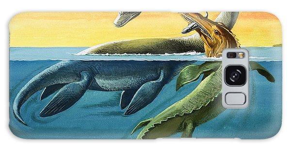 Prehistoric Creatures In The Ocean Galaxy S8 Case